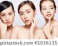 female, lady, woman 45036135