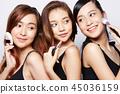 女性美容系列化妝 45036159