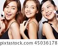 女性美容系列化妆 45036178