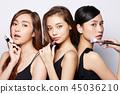 女性美容系列化妝 45036210