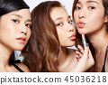 女性美容系列化妝 45036218