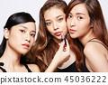 女性美容系列化妝 45036222