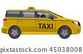 taxi car auto minivan 45038008