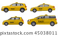 taxi service cars 45038011