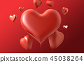 情人節,情人節背景,情人節橫幅和模板,週年紀念邀請 45038264