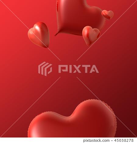 발렌타인데이, 발렌타인 백그라운드, 발렌타인 배너 & 템플릿, 기념일 초대장 45038278