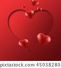 배경, 사랑, 하트 45038280