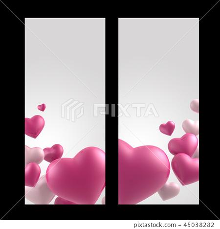 발렌타인데이, 발렌타인 백그라운드, 발렌타인 배너 & 템플릿, 기념일 초대장 45038282