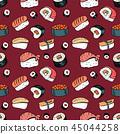 sushi, food, background 45044258