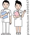 간호사 세트 45044547