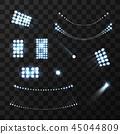 set stadium lights 45044809
