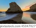 Twilight over Shark Fin Cove (Shark Tooth Beach). 45047027