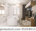 3d, design, interior 45048013