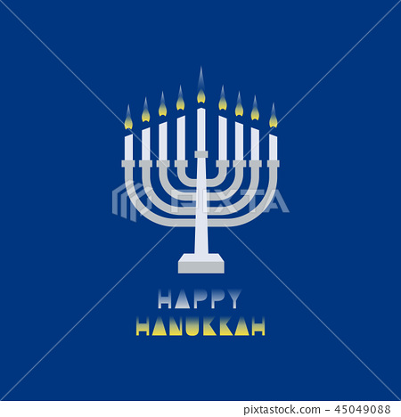 Happy Hanukkah holiday 45049088