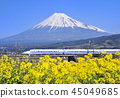 Shinkansen Series 700 and Mt. Fuji-5384 45049685