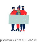 banner, sign, christmas 45050239