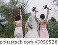 bridesmaid bride HD 45050526