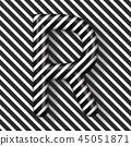 r, striped, white 45051871