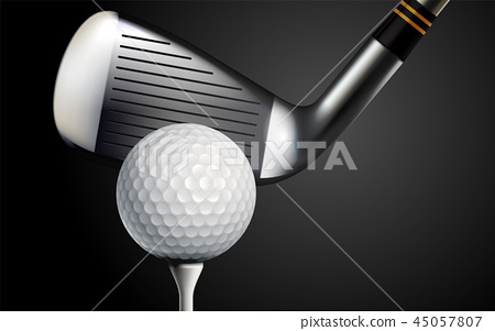 Golf Realistic Background 45057807