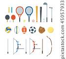 스포츠 도구 세트 45057933