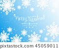 크리스마스, 성탄절, 벡터 45059011