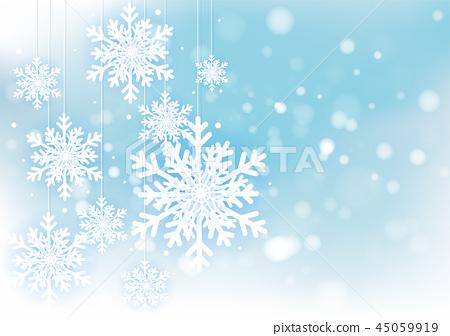 Christmas and New Years Blur bokeh of light 45059919