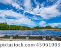 太陽能發電太陽能電池板 45061003