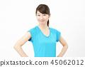 体育女人微笑 45062012