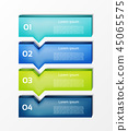 graphic, infograph, options 45065575