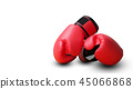 fighting gloves isolated on white background 45066868