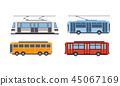公共汽车 巴士 公车 45067169