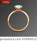 ring jewelry gem 45069412