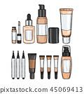 bottle cosmetic cosmetics 45069413