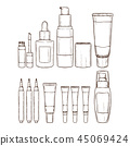 bottle cosmetic cosmetics 45069424