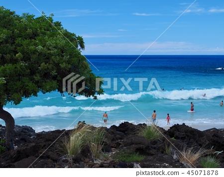 Hawaii island Kua Bay 45071878
