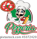 chef, pizza, food 45072420