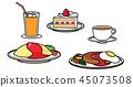 Western food set 45073508