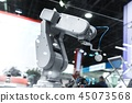 Automatic robot arm working in industrial environment 45073568