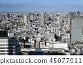Tokyo cityscape in Japan View cityscapes such as Tokyo Sky Tree and Otemachi (upper right on the screen) 45077611