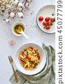 pasta, salad, tomato 45077799