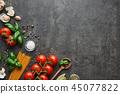 西红柿 番茄 罗勒属植物 45077822