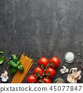 西红柿 番茄 罗勒属植物 45077847