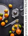 Juice preparation concept 45078629