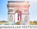 Arc de Triomphe in Paris 45079230
