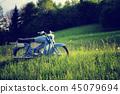 Vintage motorcycle concept. 45079694