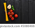 蔬菜 细意大利面 西红柿 45080466