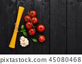细意大利面 西红柿 番茄 45080468