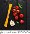 细意大利面 西红柿 番茄 45080469