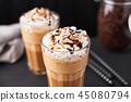 coffee, cream, latte 45080794