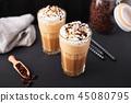 coffee, cream, latte 45080795